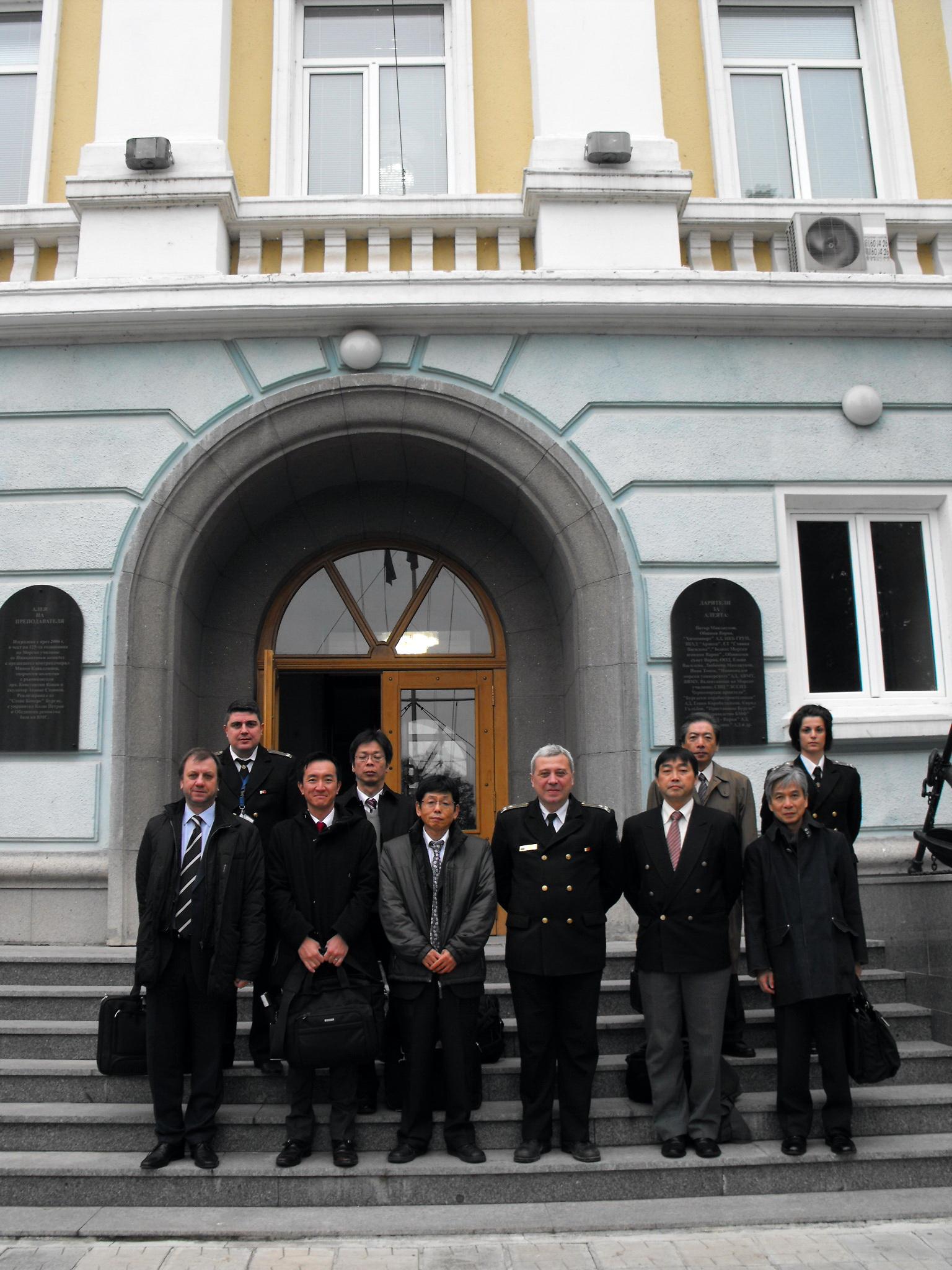 Одит на представители на министерството на транспорта на Япония