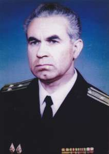Assoc. Prof. Ivan Yotov Marinov, Capt Bulgarian Navy, reserve officer