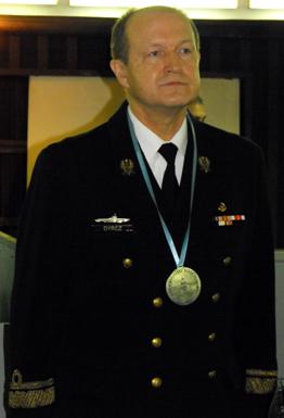 Rear Admiral Czesław Dyrcz ( Polish Naval Academy, Gdуnia Poland)