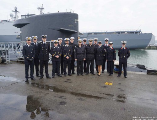 """Посещение на курсанти от ВВМУ """"Н. Й. Вапцаров"""" в Нидерландския кралски военноморски колеж"""