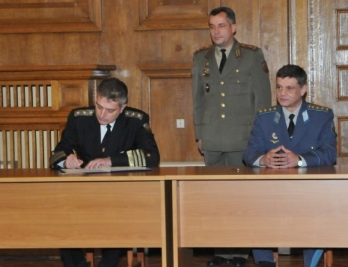 Vice Admiral Evtimov Appointed as Provisional Chief of Defence