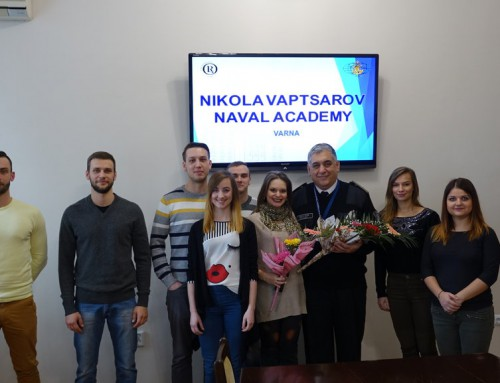 Successful Completion of Course for Polish Naval Academy Graduate Students at Nikola Vaptsarov Naval Academy