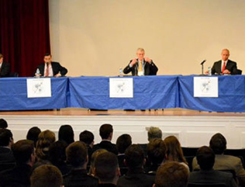 Nikola Vaptsarov Naval Academy Cadet Participates at USNA Leadership Conference