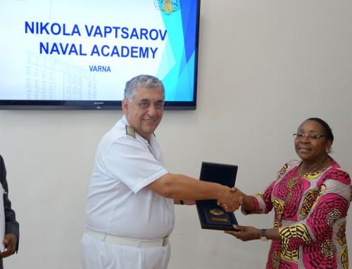 Visit by Angolan delegation