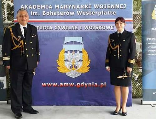 Началникът на Военноморско училище посети полската Военноморска академия