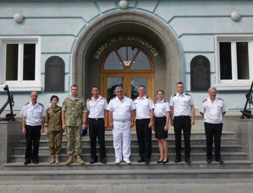 Започна курс по английски език за украински офицери