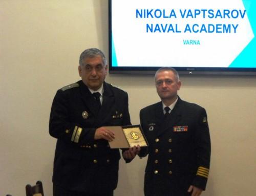 Посещение на делегация от ВМС на Украйна