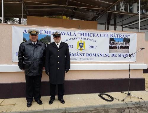 145 години от основаването на румънската Военноморска академия