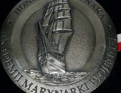 Award from Polish Naval Academy
