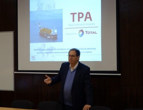 """Специализиран курс за обучение на студенти от ВВМУ """"Н. Й. Вапцаров"""" съвместно с френската фирма Total E&P UK"""