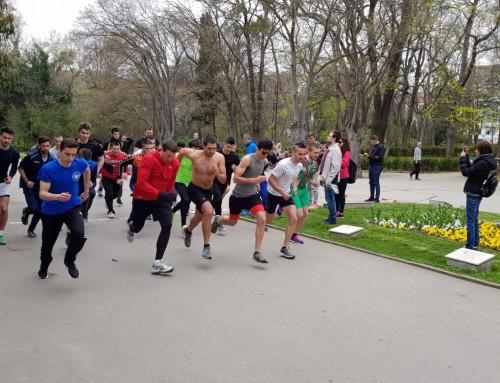 """Комплексна победа за ВВМУ """"Н. Й. Вапцаров"""" в лекоатлетическия крос на студентската спартакиада"""