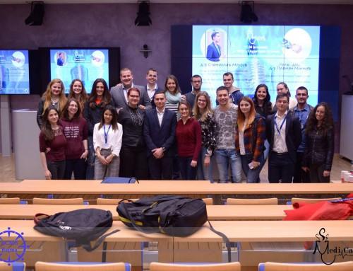 """Курсантите от специалност """"Военен лекар"""" гостуват на колегите си от Медицинския университет """"Проф.Д-р Параскев Стоянов""""  в инициативата MediCafe"""