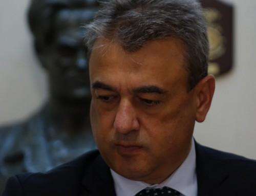 """Посещение на заместник-министъра на отбраната във ВВМУ """"Н. Й. Вапцаров"""""""