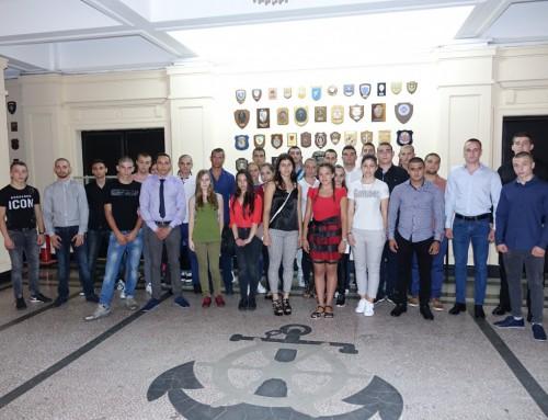 Прием на курсанти за Военноморските сили