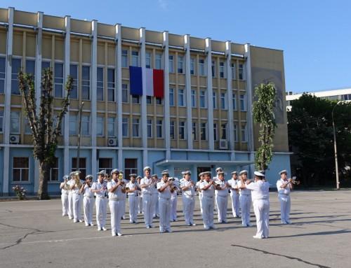 Във Военноморското училище отбелязаха националния празник на Франция