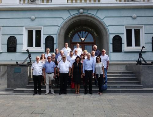 Във Военноморско училище се проведе разширен ректорски съвет