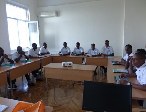 Във Военноморско училище стартира обучението на студенти от Република Ангола