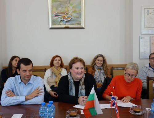 """Годишна среща по проект """"Интегрирана информационна система за управление и мониторинг на бреговата зона"""""""
