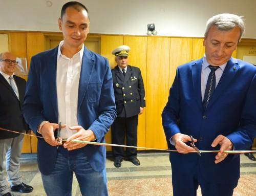 """Нова лаборатория """"Клетъчни мрежи"""" бе открита във ВВМУ """"Н. Й. Вапцаров"""""""