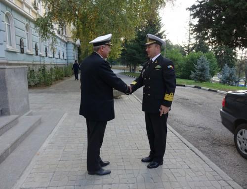 """Заместник-командващият на ВМС на Република Румъния посети ВВМУ """"Н. Й. Вапцаров"""""""