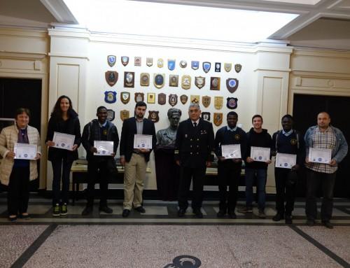 """Студенти и служители от ВВМУ """"Н. Й. Вапцаров"""" със сертификати от НАСА"""