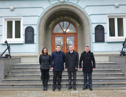 Меморандум за сътрудничество с македонски университет