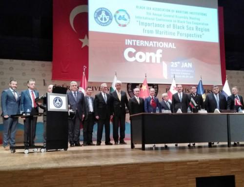 Участие в 9-ата генерална асамблея на Черноморската асоциация на морските университети (BSAMI)