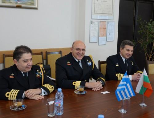 Официална визита на офицери от Военноморските сили на Република Гърция