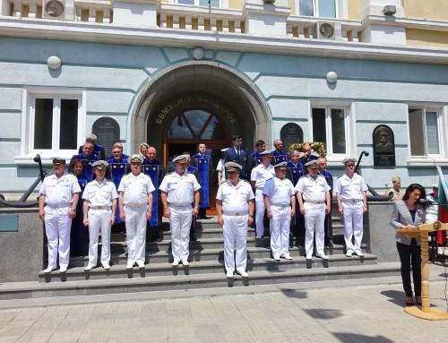 Висшето военноморско училище отбеляза 24 май
