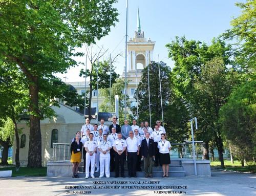 """Подготвителна конференция на началниците на военноморски академии се проведе във ВВМУ """"Н. Й. Вапцаров"""""""