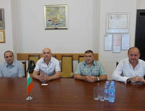 """Офицери от СКС на посещение във ВВМУ """"Н. Й. Вапцаров"""""""