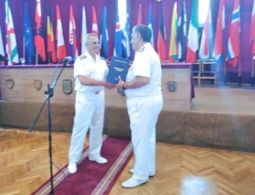 Благодарствен адрес до вицеадмирал Митко Петев
