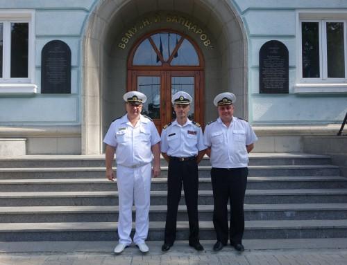 Директорът на Старшинския колеж в Одеса посети Военноморско училище
