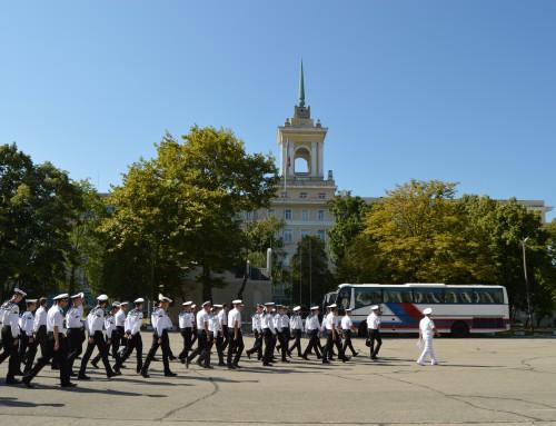 """Посещение на военнослужещи от """"Одеска морска академия"""""""