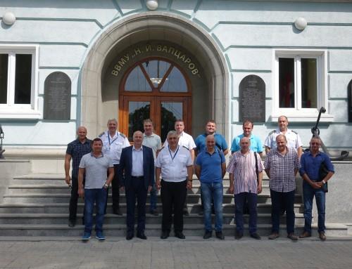Директорът на Дирекция КИС в Министерство на отбраната – на посещение в Морско училище