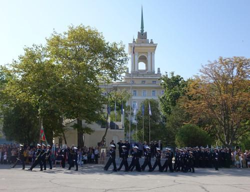 """Тържествен ритуал по полагане на военна клетва във ВВМУ """"Н. Й. Вапцаров"""""""