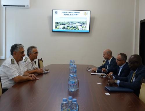 """Зам.-генералният секретар на Международната морска организация (IMO) посети ВВМУ """"Н. Й. Вапцаров"""""""