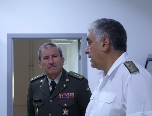 """Делегация от Украйна на посещение във ВВМУ """"Н. Й. Вапцаров"""""""