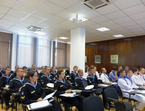 Военноморско училище бе домакин на международна курсантска конференция