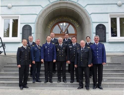 Посещение на военнослужещи от Одеската морска академия и Измаилския университет