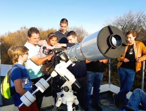 Студенти наблюдаваха рядко астрономическо явление