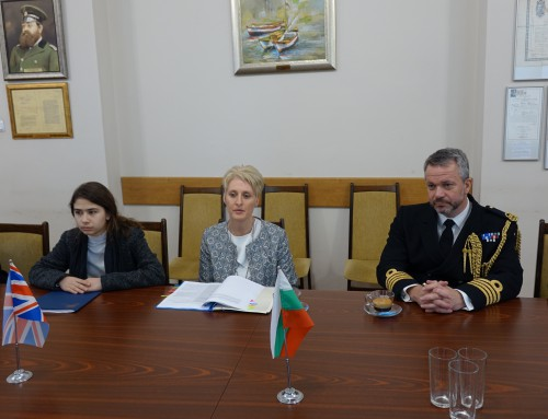UK Ambassador to Bulgaria visits Naval Academy