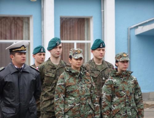 Поляци и македонки влязоха в курсантските редици на Морско училище