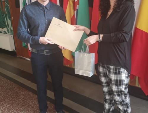 Студент от Морско училище спечели конкурс на Португалския културен институт