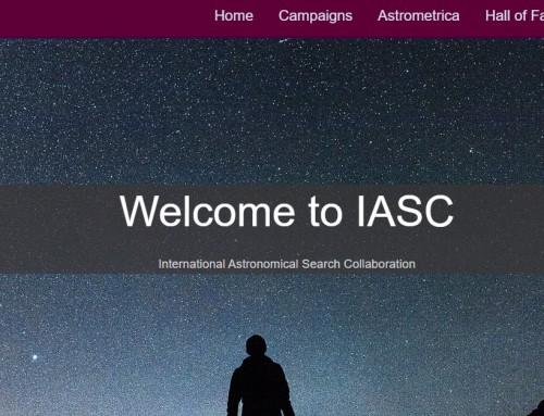 Астрономическият екип на Военноморско училище с нови открития