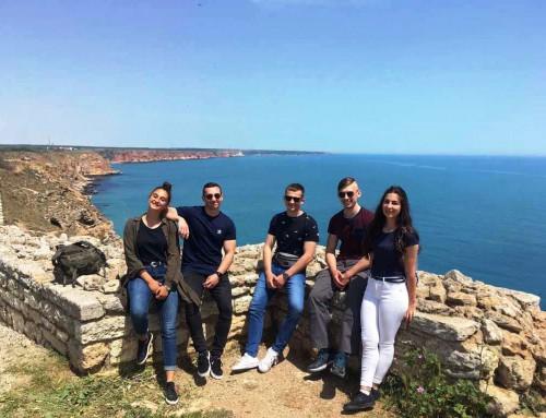 Чуждестранните курсанти от Морско училище видяха част от 100-те национални туристически обекта