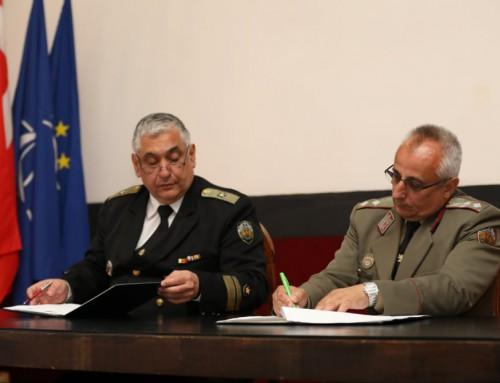 Морско училище и Военната академия подписаха споразумение за сътрудничество