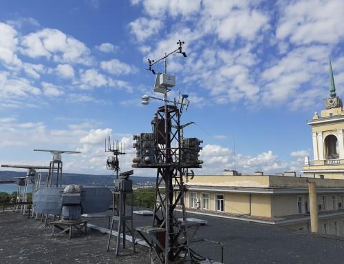 Морско училище с метеостанции на своя територия