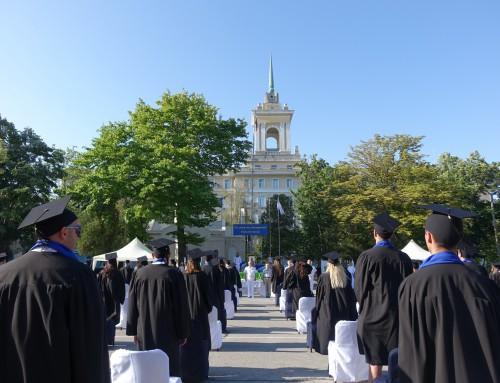 353-ма студенти от Випуск 2020 се дипломираха в Морско училище