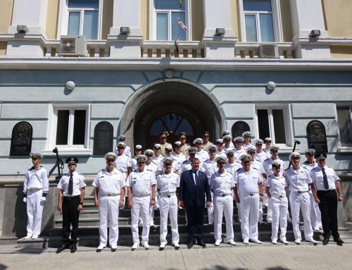 Курсантите от Випуск 2020 на Морско училище – с първо офицерско звание